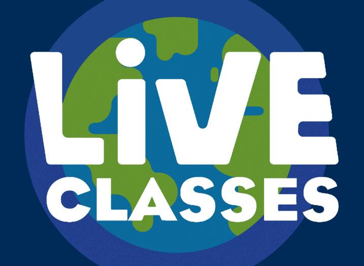 کلاس لایو , آنلاین شبکه